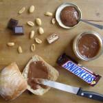 Pâte à tartiner au snickers