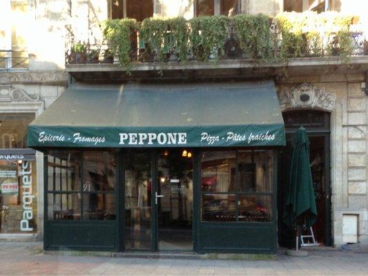Pizza Peppone Bordeaux Carte.Peppone Toque De Choc