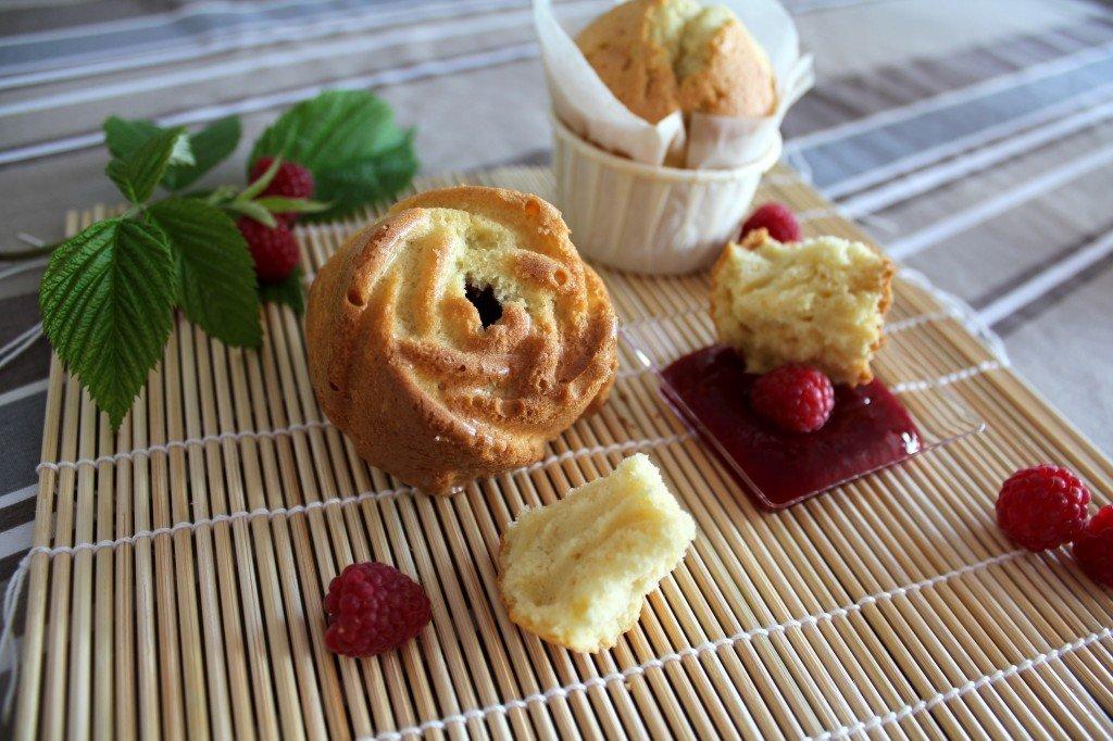 muffins gonflés et moelleux