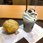 Milkshake Oréo et muffin Ananas-coco