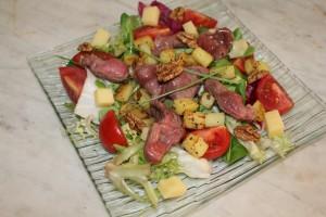 Salade de gésiers confits