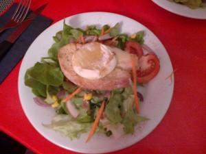 Salade de cabécou