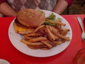 Burger extra du Petit Saint-Pierre