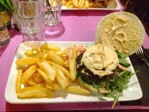 Mon Chèvreburger mis à nu