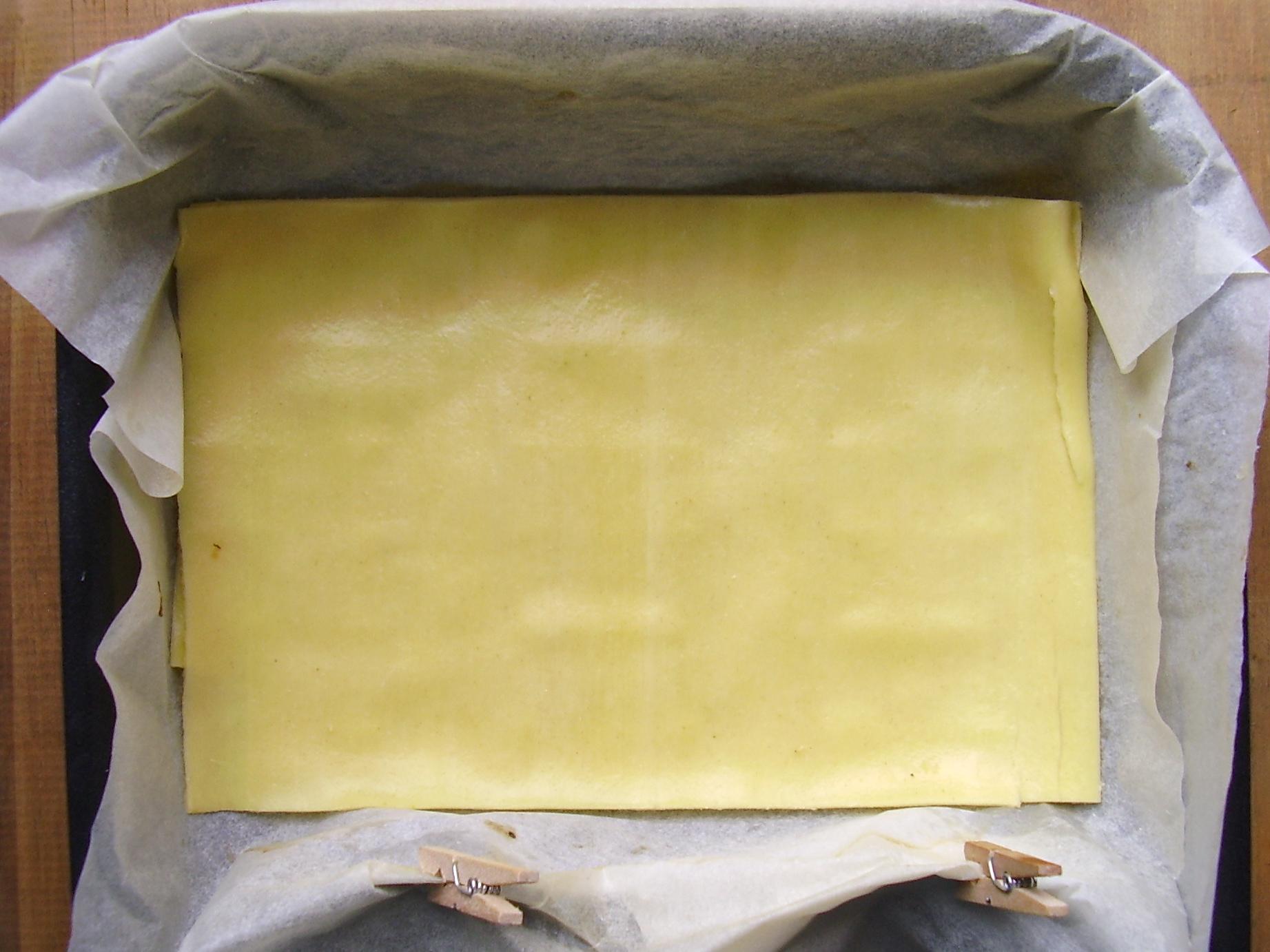1ere double couche de lasagne