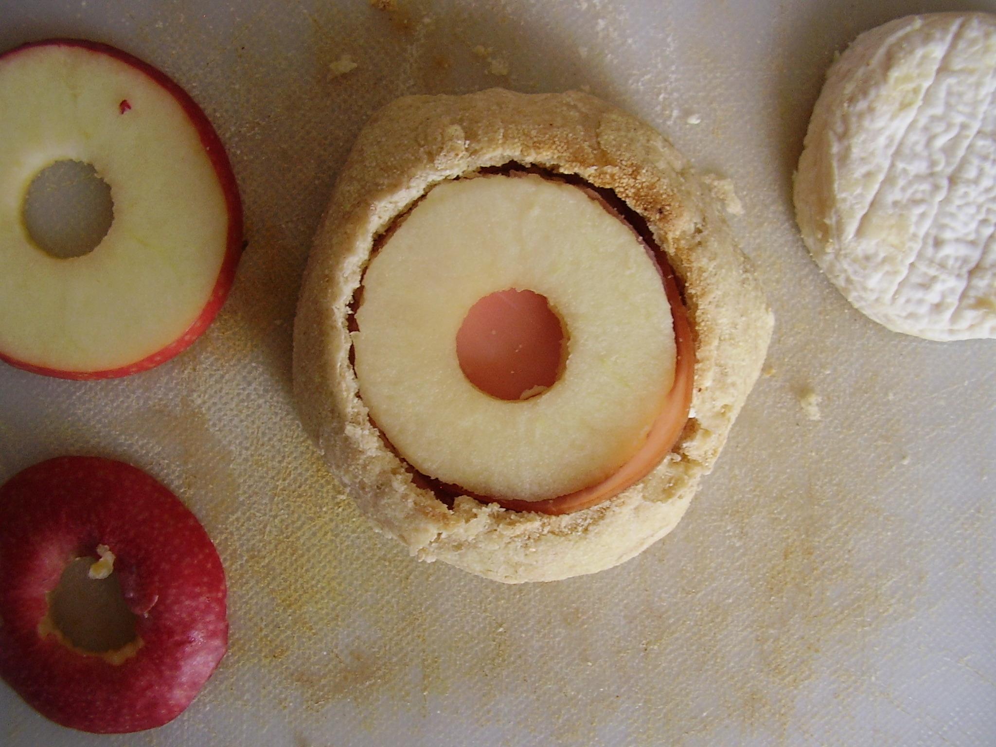 la rondelle de pomme