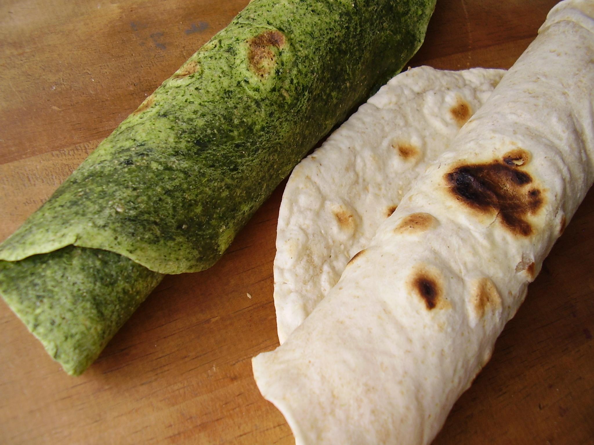 Tortilla aux épinards