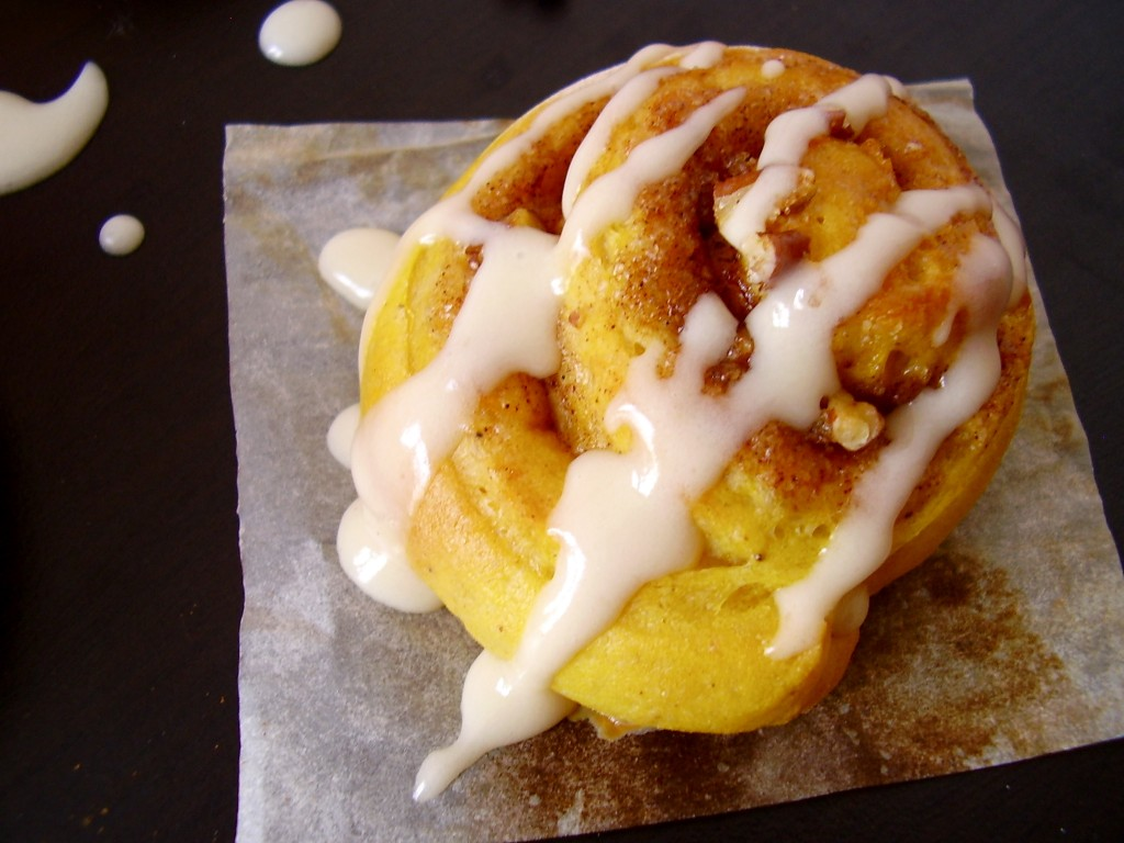 "Pumpkin ""cinnamon Roll"" Scones Recipes — Dishmaps"