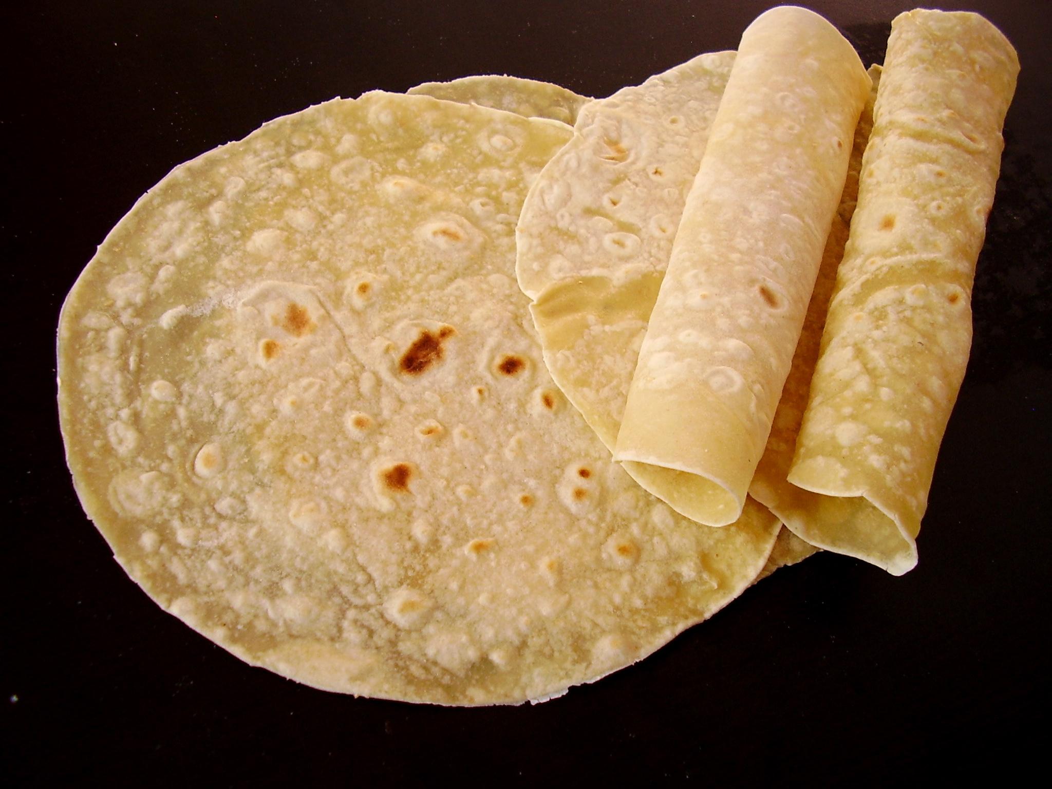 Tortilla au blé maison
