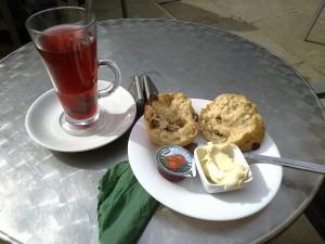Le cream tea chez Le Pâtissier