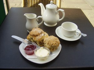 Le cream tea chez Aunties