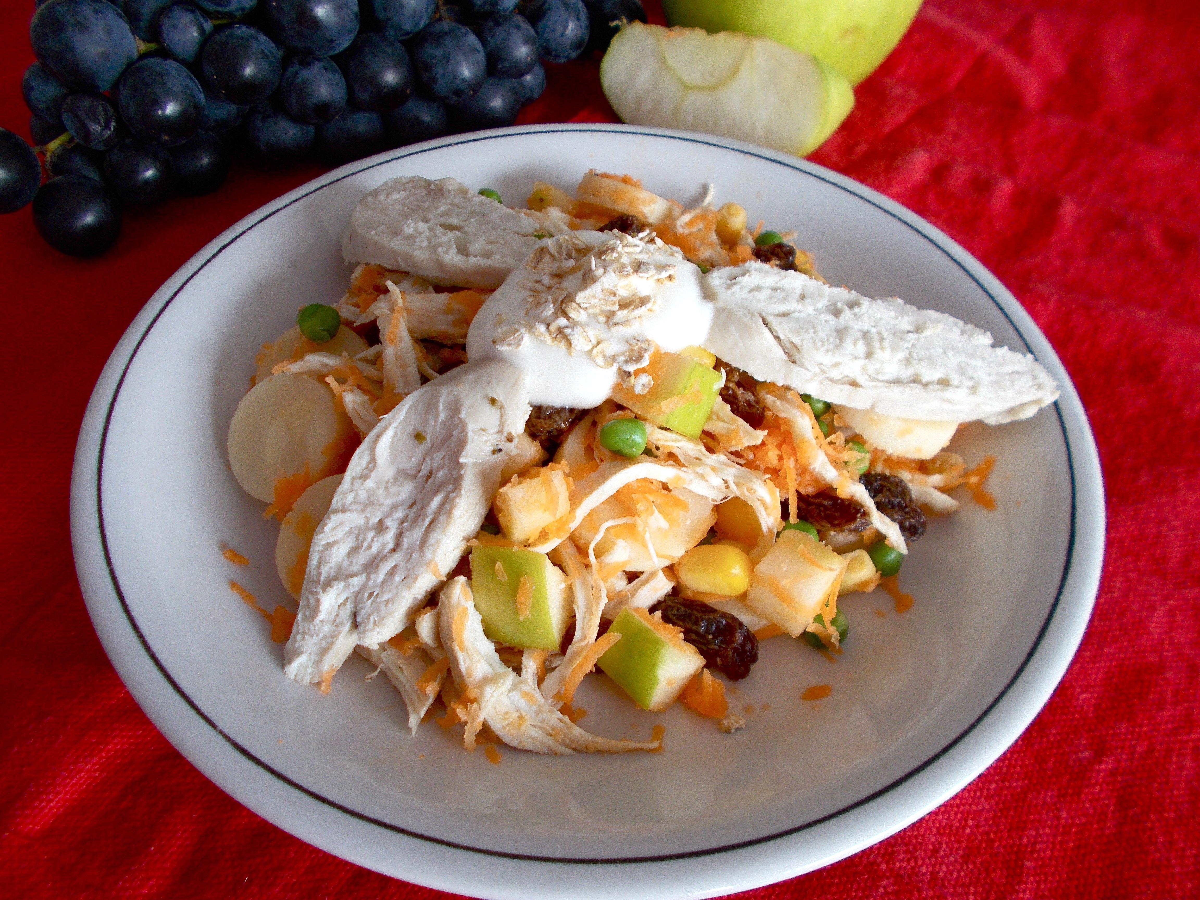 Salade Salpicão (salade brésilienne)