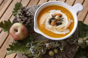 Soupe de potimarron pomme et cannelle par Afternoon Tea