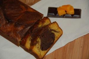 Marbré butternut et chocolat par Maman... ça déborde!