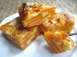 Gâteau invisible à la courge butternut de Cooking Julia