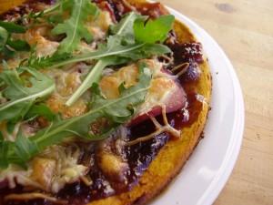 Pizza de potiron par Toque de choc