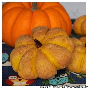 Pain citrouille par Marmotte cuisine