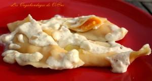 Ravioles aux truffes et butternut par les Vagabondages de Viane