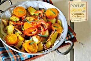Poêlée de pâtisson aux pommes de terre par Kaderick en Kuizinn