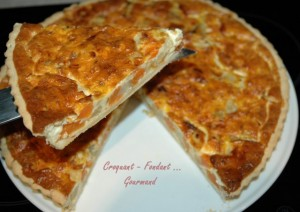 Tarte potiron-fenouil par Croquant, Fondant, Gourmand