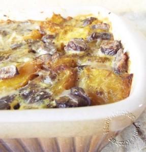 Gratin de butternut aux marrons par Nani's Kitchen