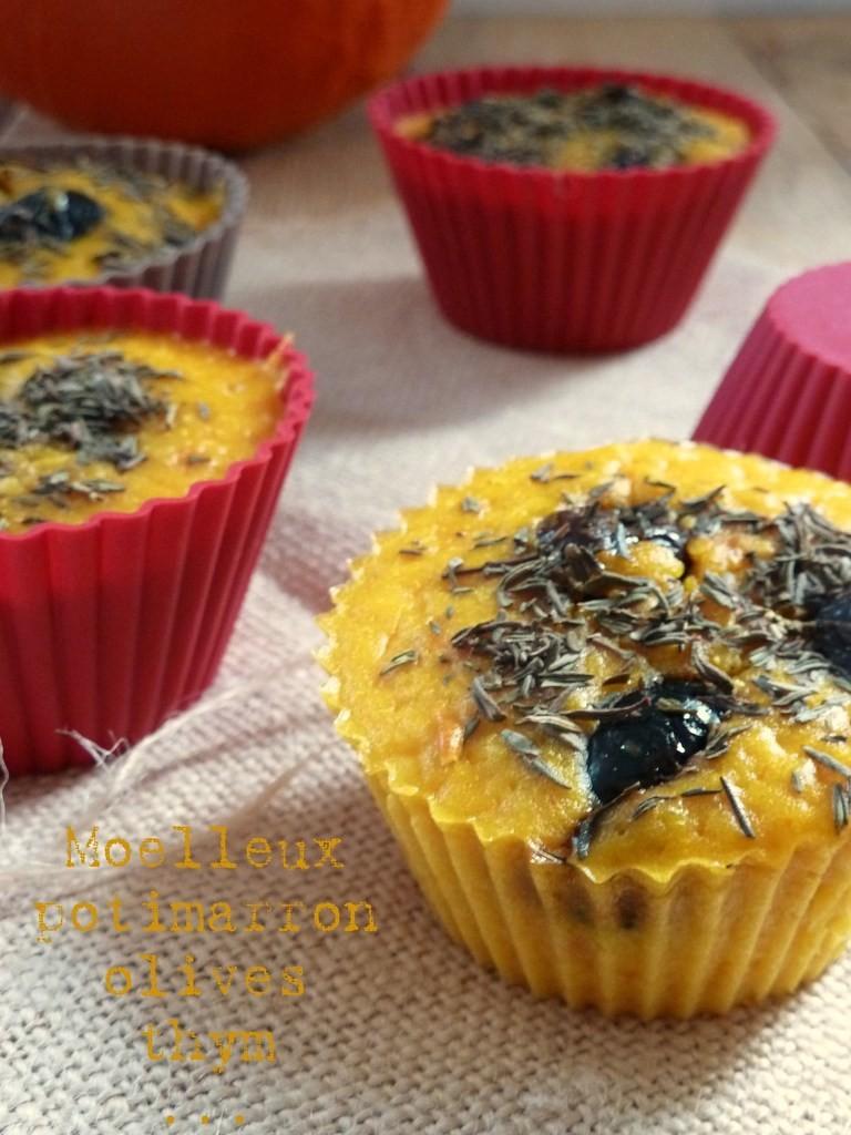 Cake potimarron et olives chez La gourmandise est un joli défaut