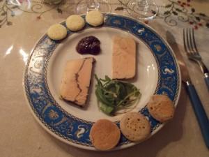 Duo de terrines de foie gras [Noël 2015]