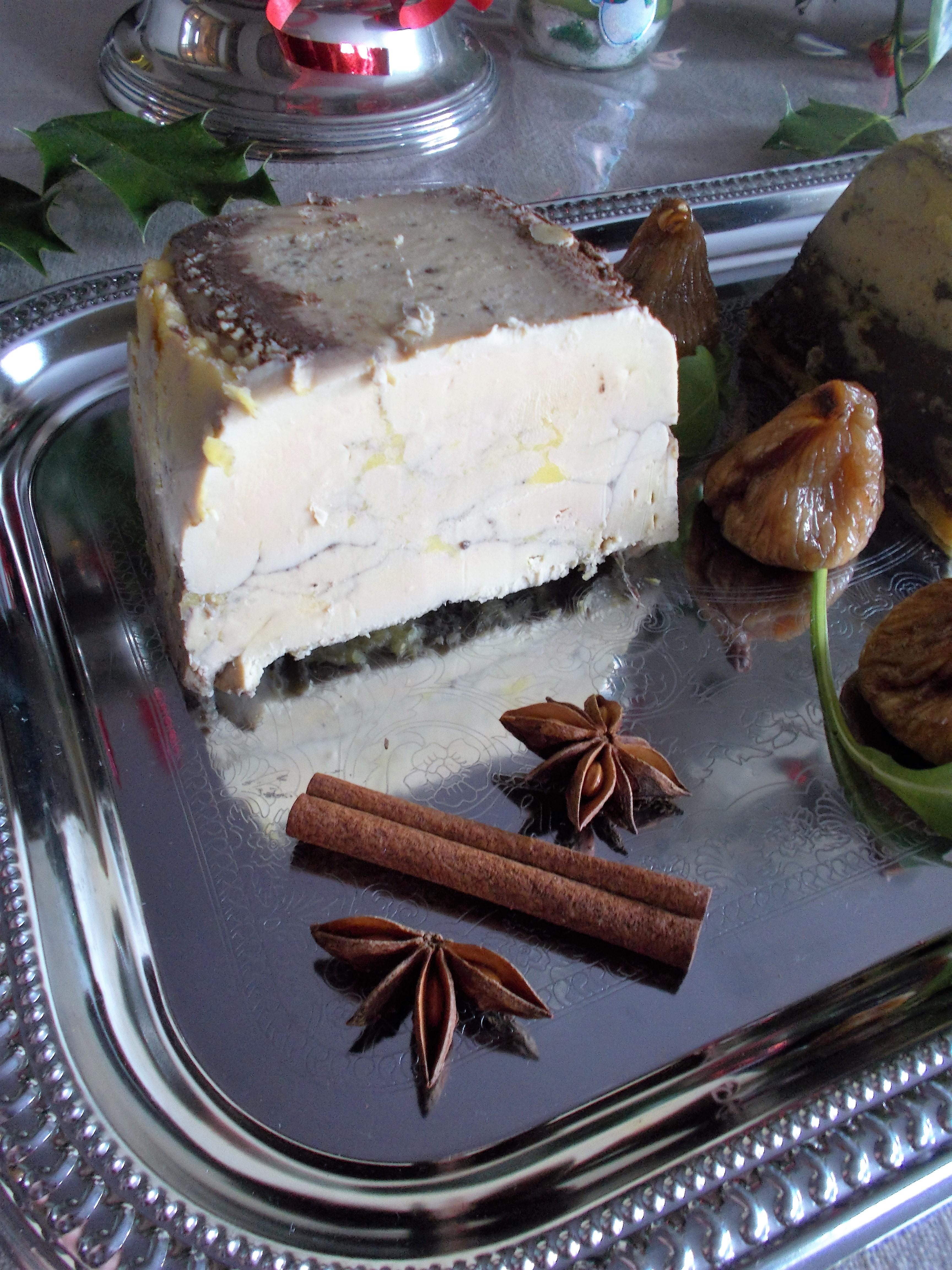 Terrine de foie gras au miel et épices [Noël 2015]