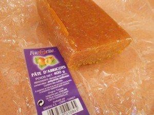 de la pâte d'abricot