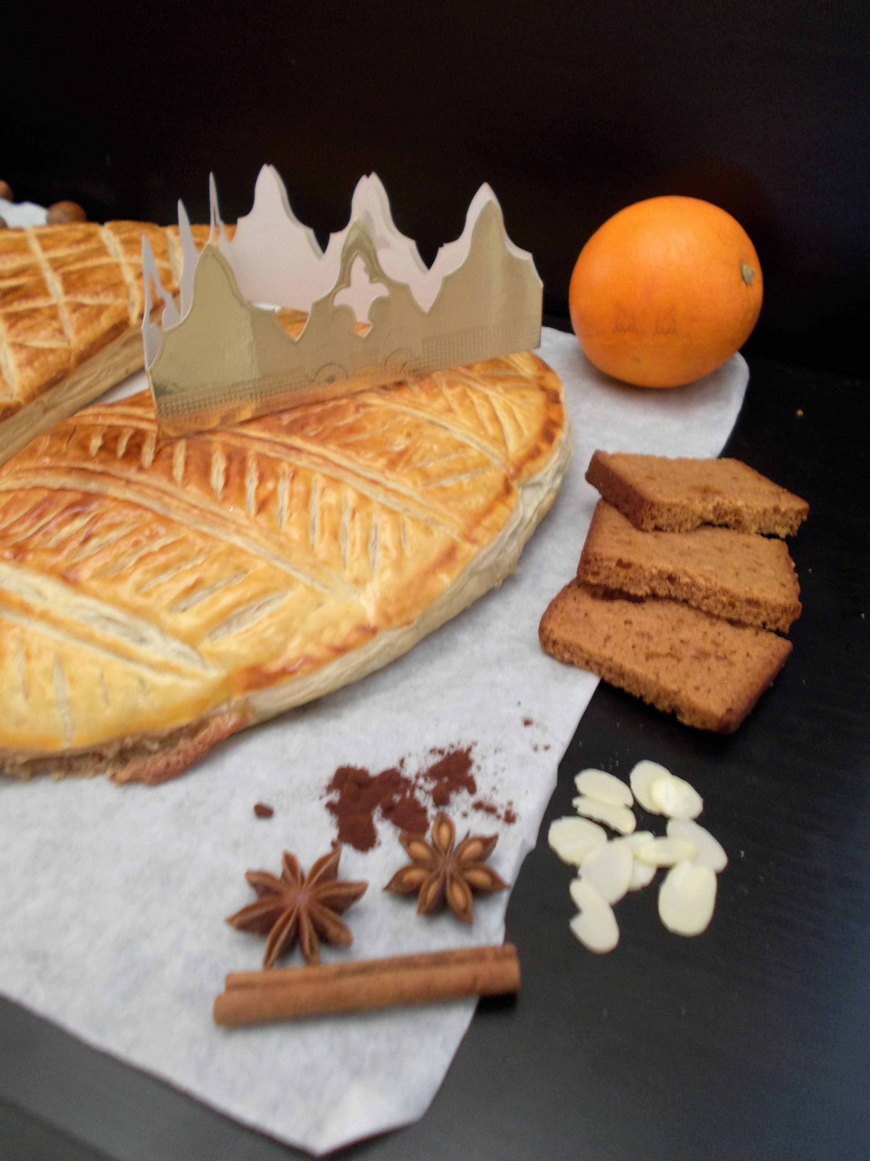 Galette des rois saveur pain d'épices