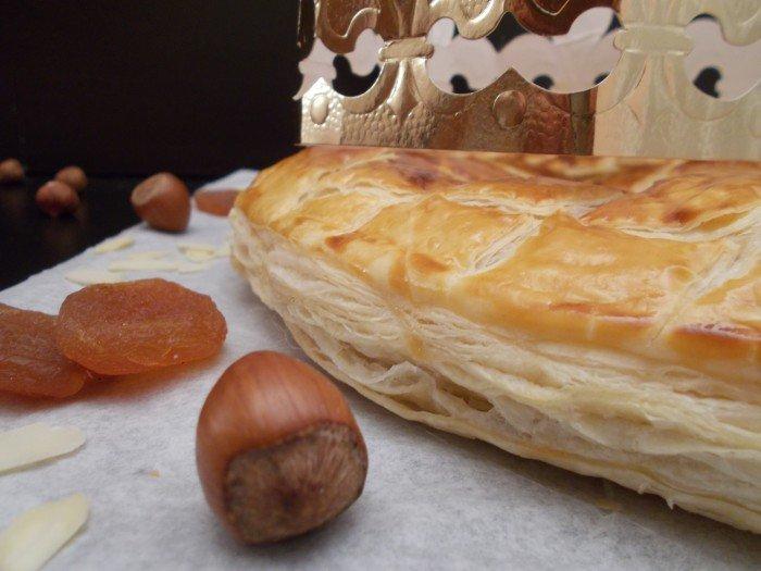 Galette des rois abricot-amande-noisette