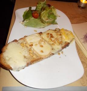 Bruschetta Parmigiano