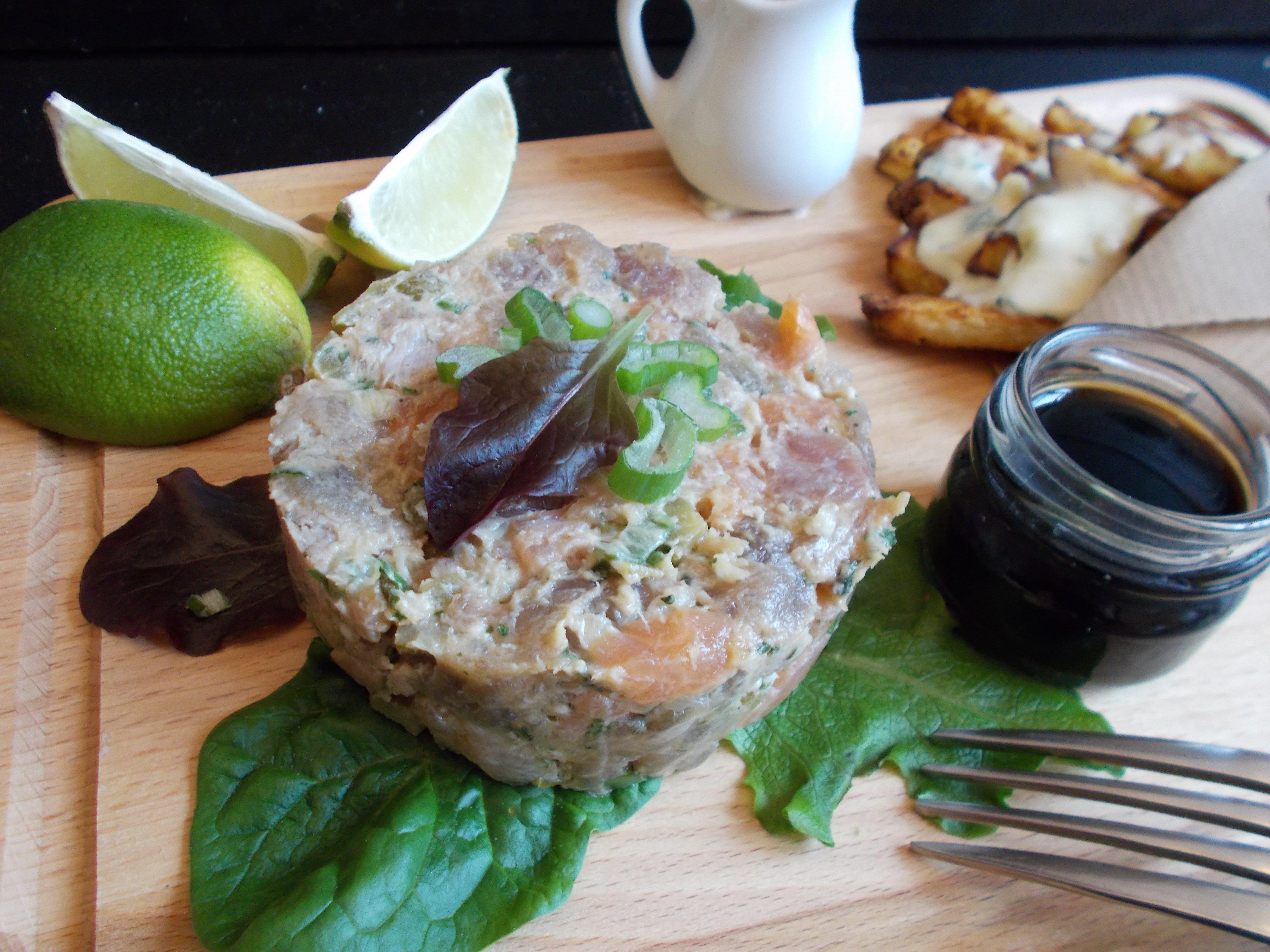 Tartare de thon à la Calédonienne