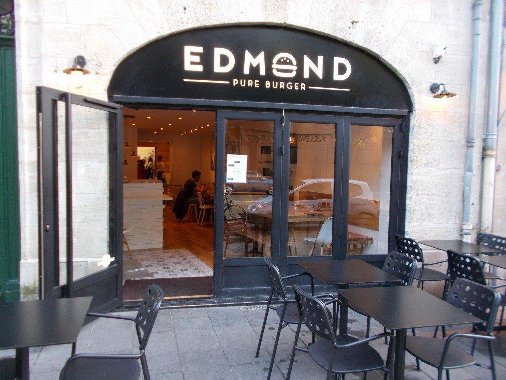edmond pure burger des burgers de qualit rassasiants. Black Bedroom Furniture Sets. Home Design Ideas