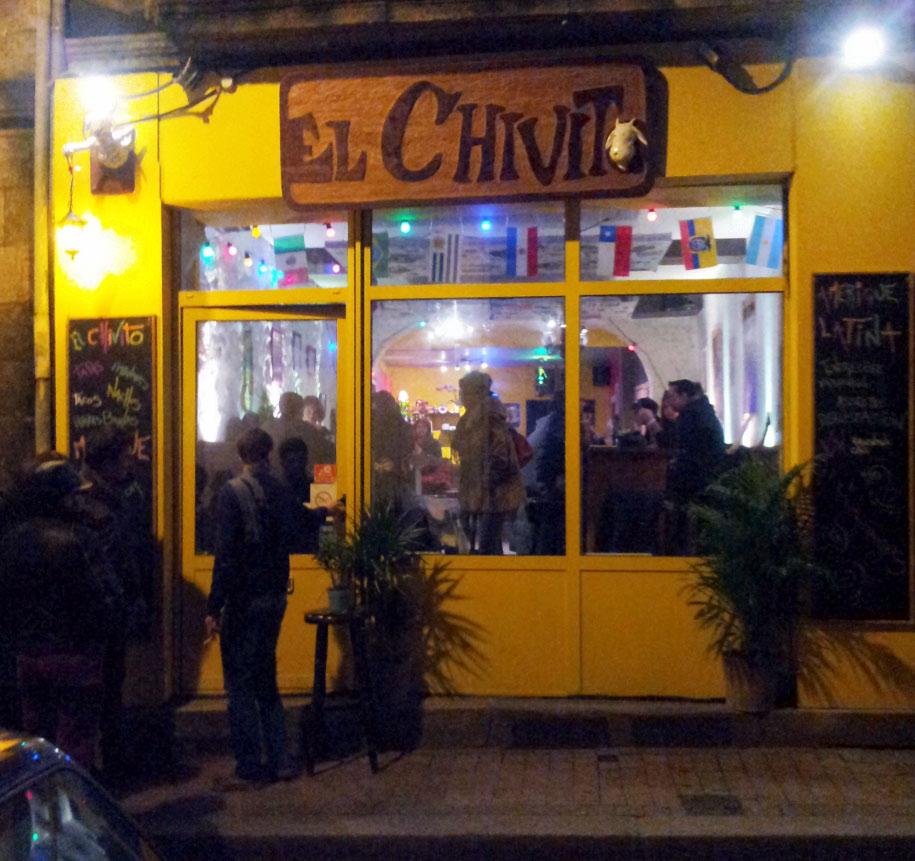 Restaurant El Chivito Bordeaux