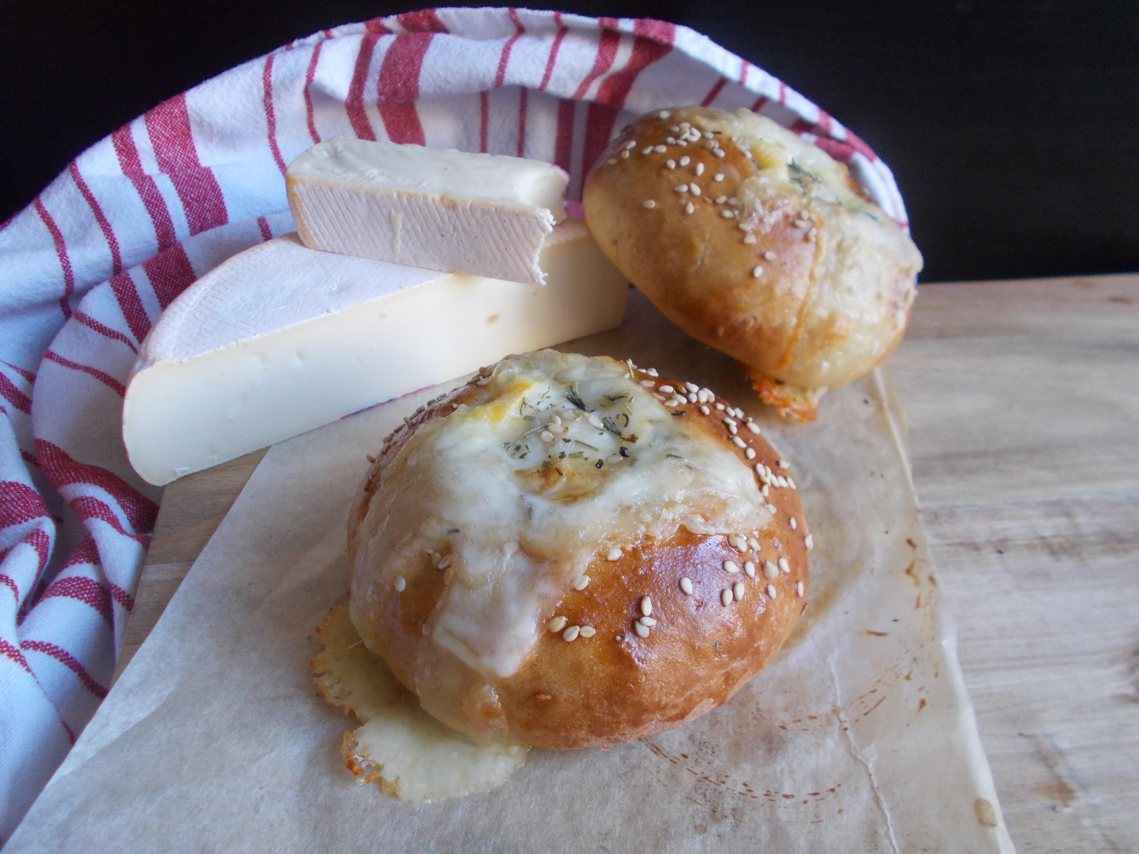 Buns à burger volcaniques au Mont d'Or