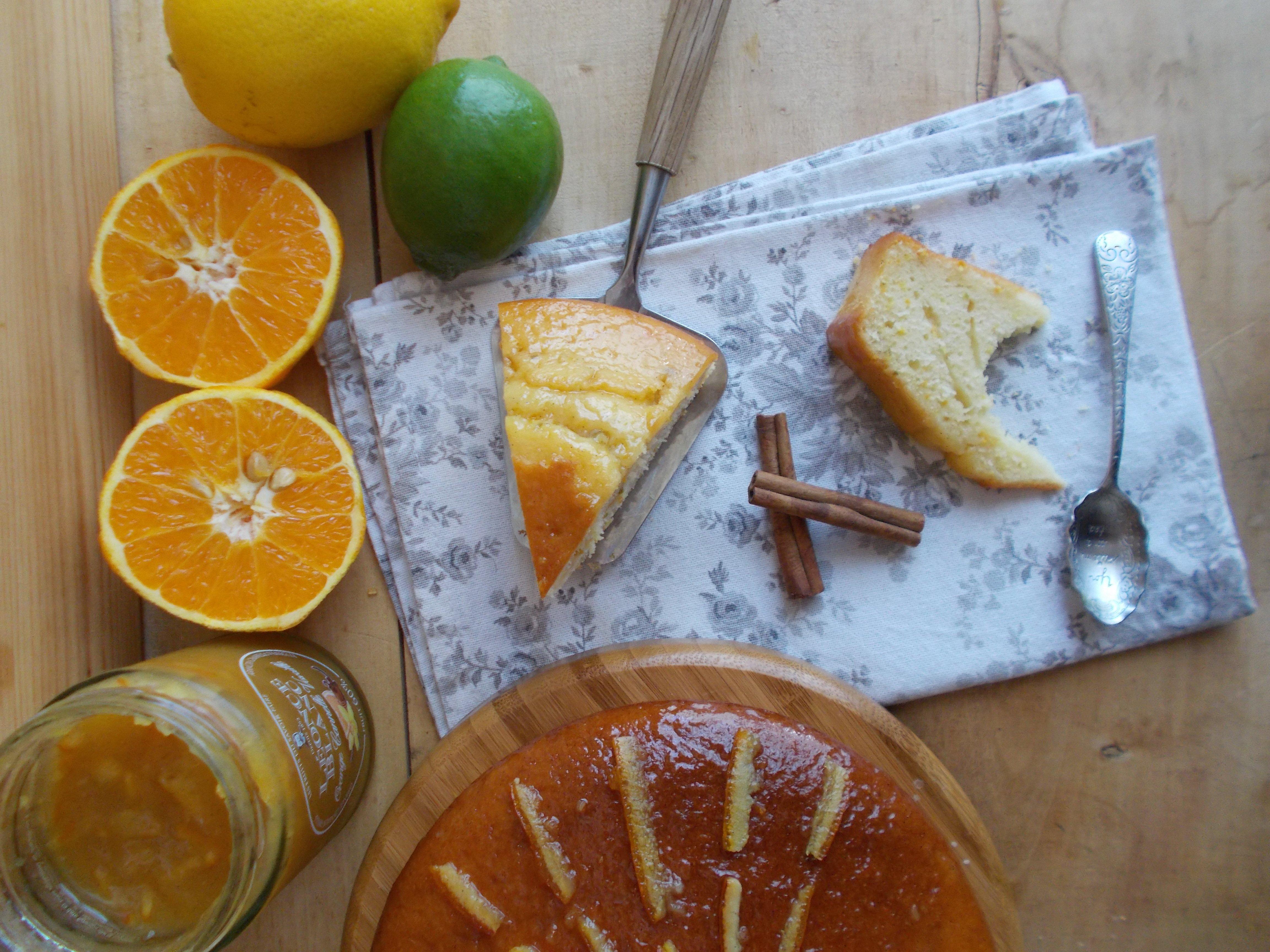 Gâteau au yaourt aux 3 agrumes