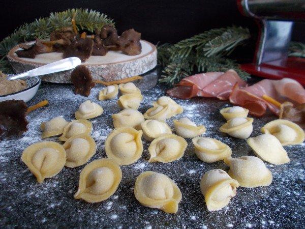 Tortellini speck & cèpes