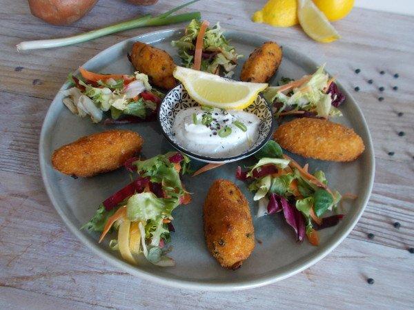 Beignet de haddock à la patate douce (Bolinhos)