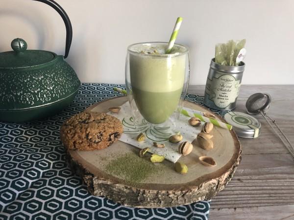 St Patrick's Pistachio Matcha Latte