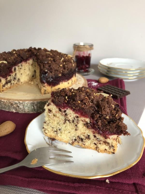 Crumb cake Cerise & Chocolat