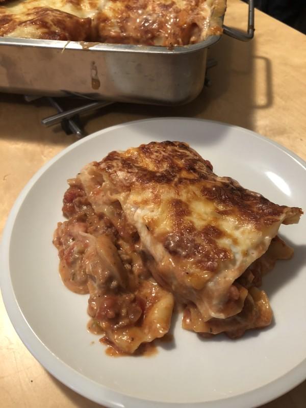 Lasagnes au boeuf (best Lasagnes EVER)
