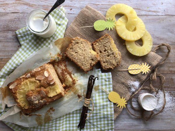 Banana bread à l'ananas