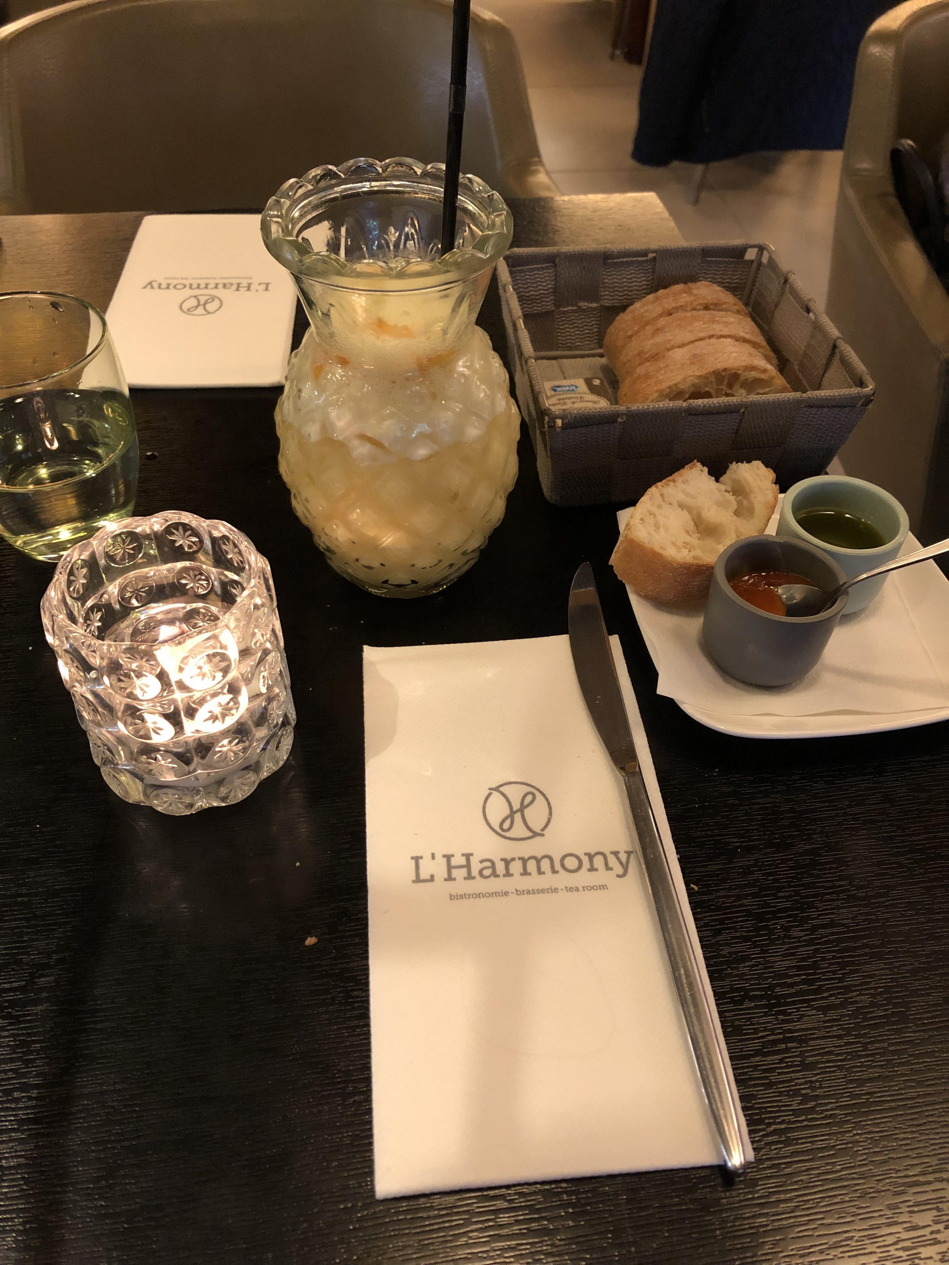 L'Harmony : ambiance cosy pour un repas bistronomique