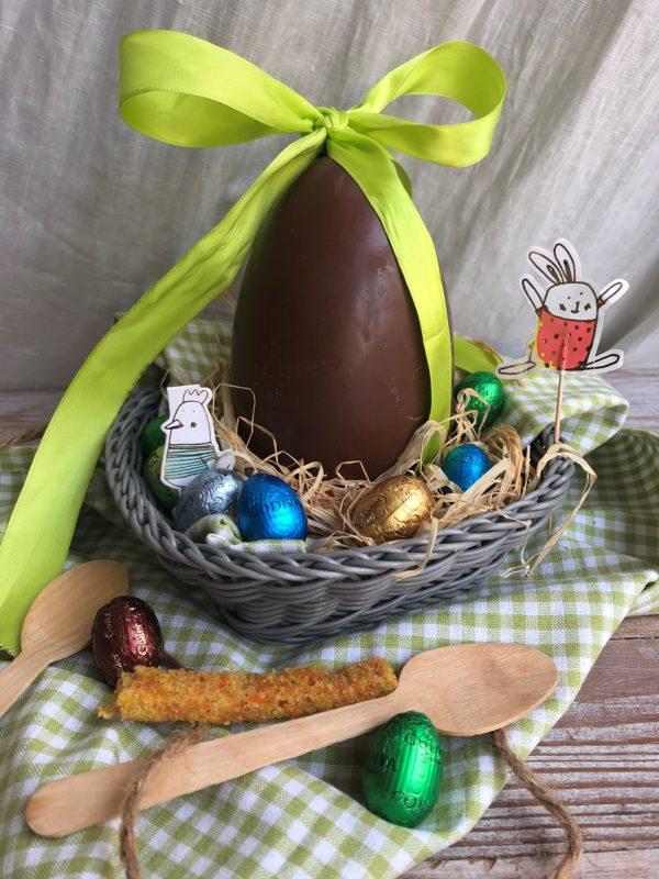 Oeuf de Pâques surprise : tiramisu, carrot cake et caramel pécan