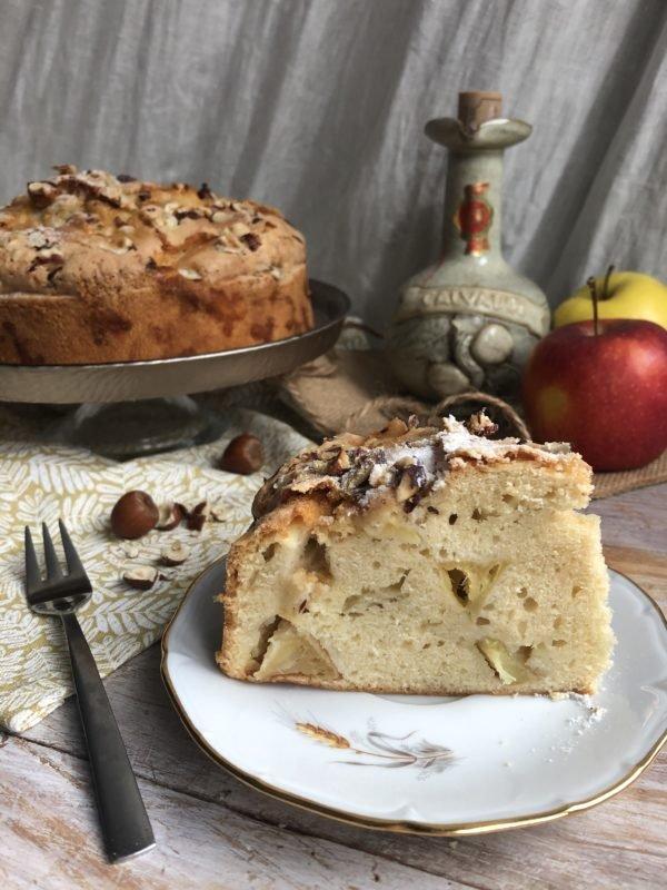 Gâteau aux pommes normand