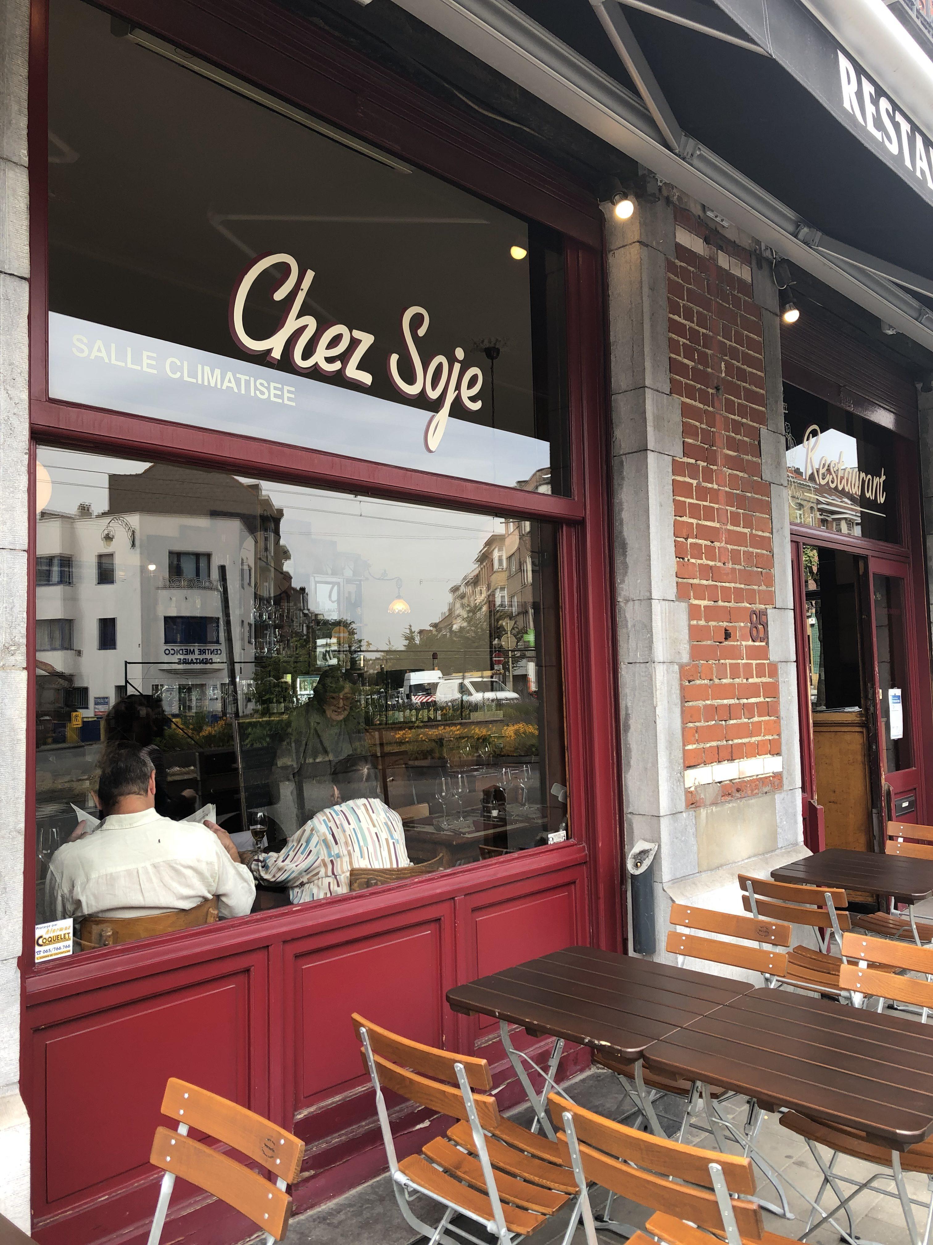 Chez Soje : brasserie à l'ancienne