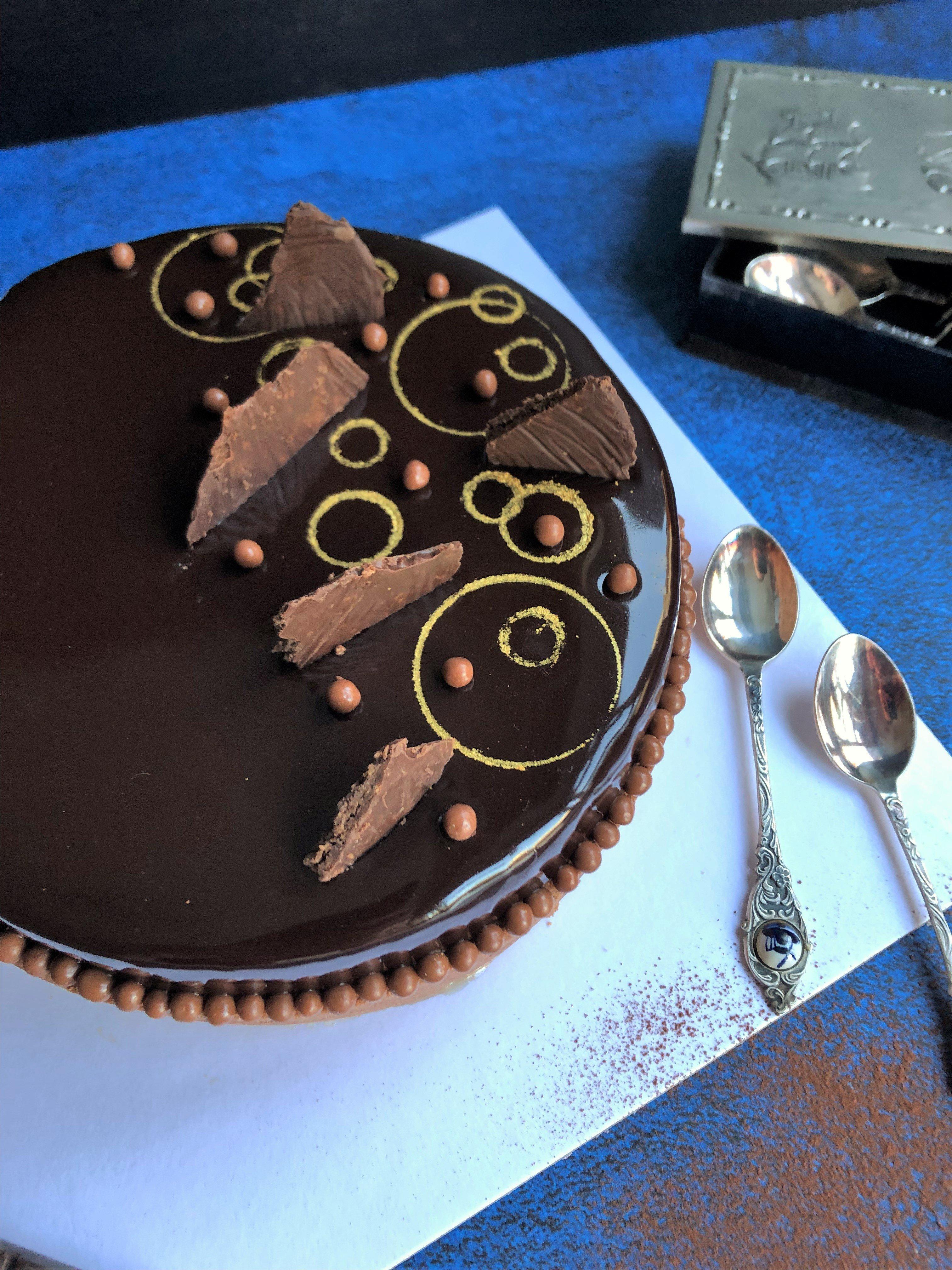 Tarte exotique au chocolat