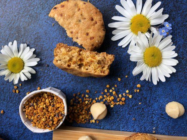 Sablé au miel & noix de macadamia