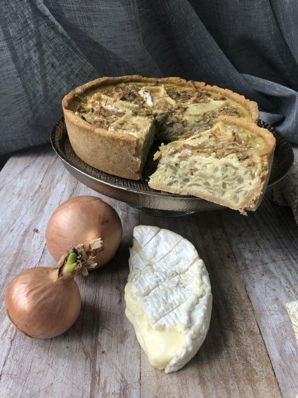 Quiche oignon & camembert